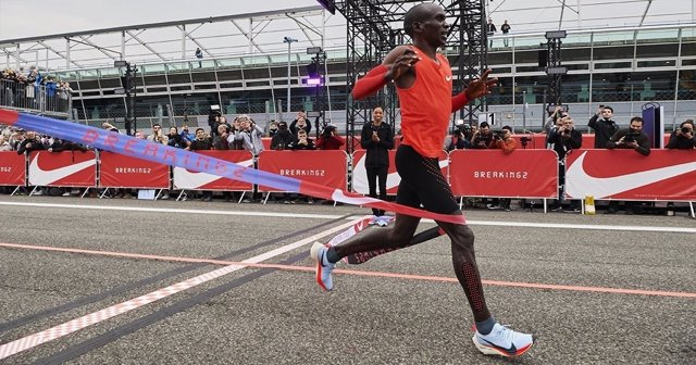 Eliud Kipchoge reto Nike maratón dos 2 horas