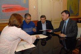 La Diputación de Segovia aporta a Turégano una ayuda de 55.000 euros para arreglar su polideportivo