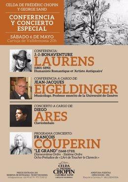 Conferencia y concierto en la celda de Chopin de Valldemossa