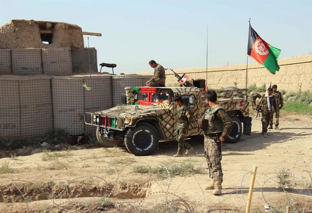 Soldados afganos en Kunduz
