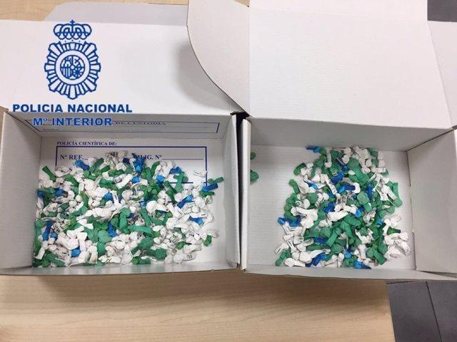 """Nota De Prensa Y Fotografías: """"La Policía Nacional Desmantela Un Punto De Venta"""