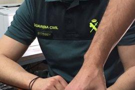 La Guardia Civil recupera una tortuga mora recogida por un vecino de Campohermoso