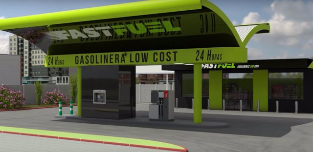 Fast Fuel, gasolinera desatendida o 'fantasma'