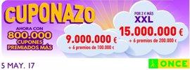 Un vecino de La Isleta gana nueve millones de euros con el Cuponazo de la ONCE
