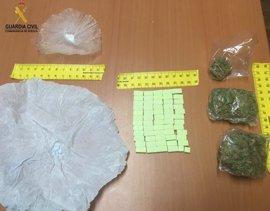 Detenido por tráfico de drogas, en Barbastro (Huesca)