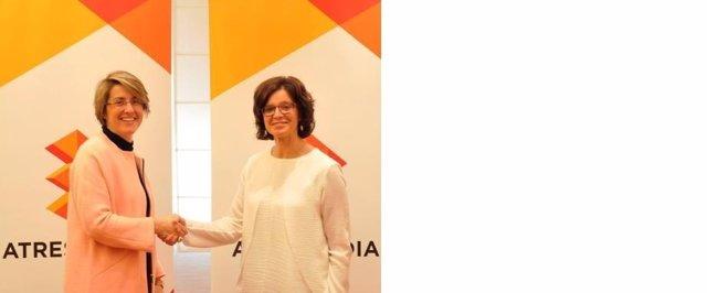 Patricia Pérez y Mónica Herrero