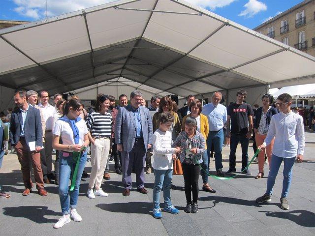 Inauguración de Zientzia Azoka 2017 en Bilbao