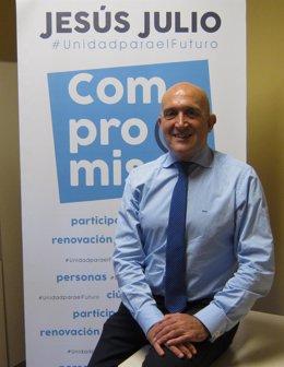 El precandidato a la Presidencia del PP de Valladolid, Jesús Julio Carnero