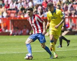 El Sporting se aferra al milagro de la salvación ante Las Palmas