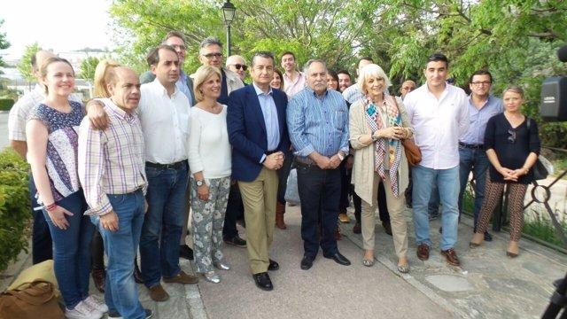 Reunión comarcal del PP en Prado del Rey (Cádiz), con Antonio Sanz