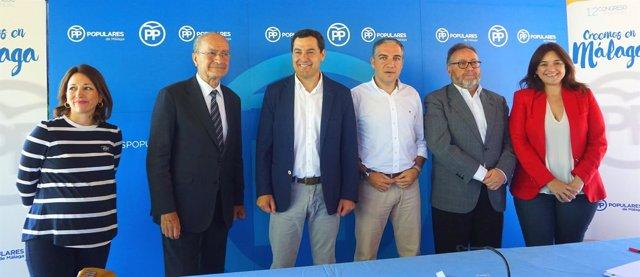 Acto político con Juanma Moreno (PP-A) en Alhaurín de la Torre