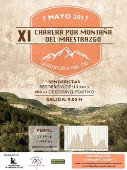 La XI Carrera por Montaña del Maestrazgo llega a La Iglesuela del Cid.