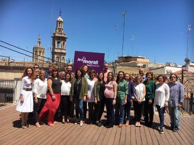 La candidatura se ha presentado en València
