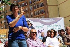 """Lima apuesta por un Podem abierto y coral: """"No solo quiero ser morada, quiero tener el moreno de la gente que lucha"""""""