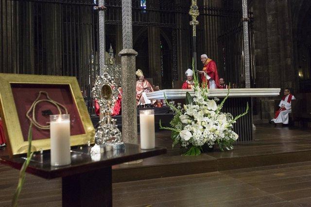 Beatificación de siete misioneros en la catedral de Girona