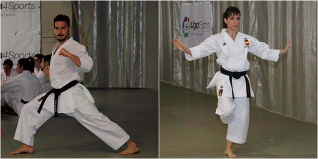 Damián Quintero Sandra Sánchez karate katas