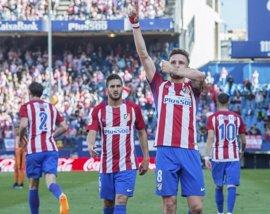 Saúl tumba al Eibar y el Atleti sueña con la 'Champions'
