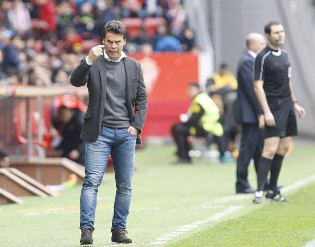 Rubi Francesc Ferrer Sporting Gijón