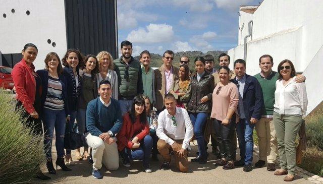 Encuentro de NNGG en Zafra