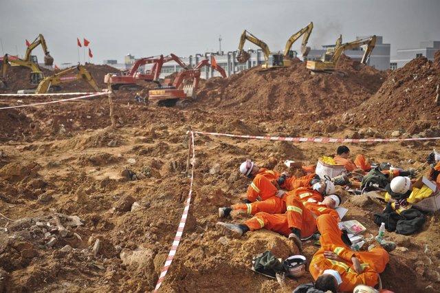 Colapso de Shenzhen diciembre 2015