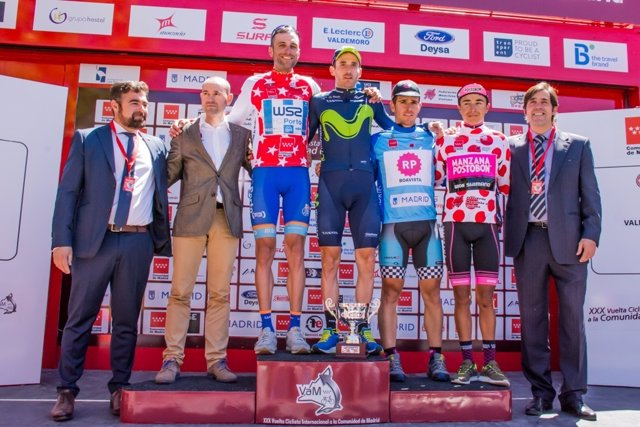 Carlos Barbaro gana la segunda etapa de la Vuelta a Madrid