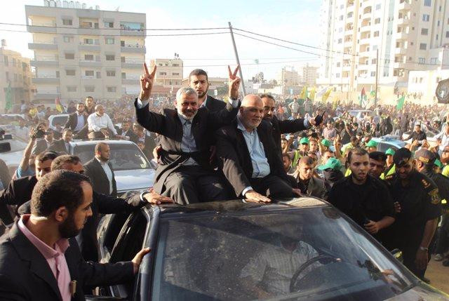 El Primer Ministro 'De Facto' De La Franja De Gaza, Ismail Haniyeh