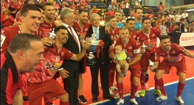 ElPozo Murcia gana la Copa del Rey de fútbol sala