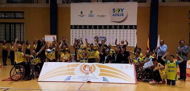 El CD Ilunion, campeón de Europa de baloncesto en silla de ruedas