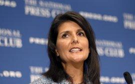 La embajadora de EEUU ante la ONU insta a Maduro a respetar la Constitución