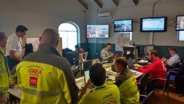 Dos heridos graves en accidentes de moto durante la segunda noche del Plan del Gran Premio de Jerez
