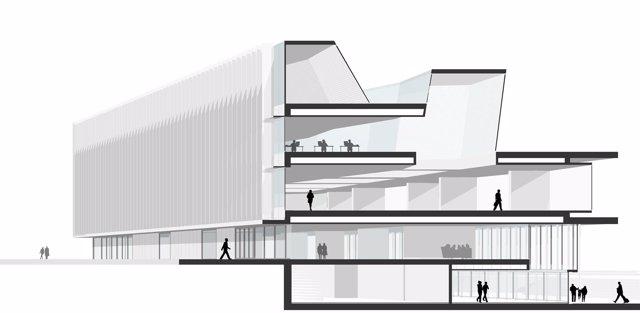Proyecto de la Biblioteca Pública del Estado de Córdoba.