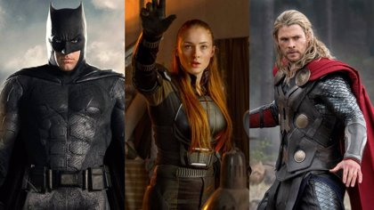 Calendario con todas las películas de superhéroes hasta 2020