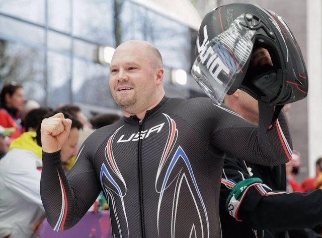 Steven Holcomb bobsleigh