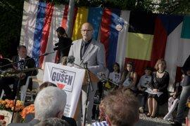 Romeva participa en el homenaje a la liberación de Mauthausen en Austria