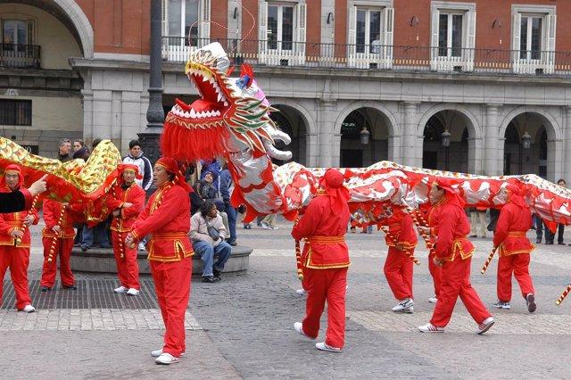 Año Nuevo Chino en Madrid (Archivo)