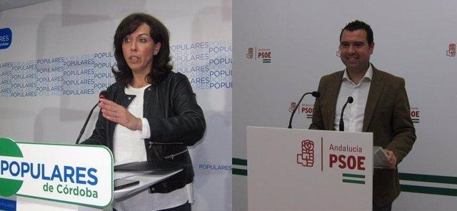 Ceballos (PSOE) y Mármol (PSOE)