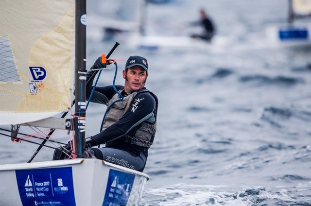Alex Muscat Finn World Cup Series in Hyères