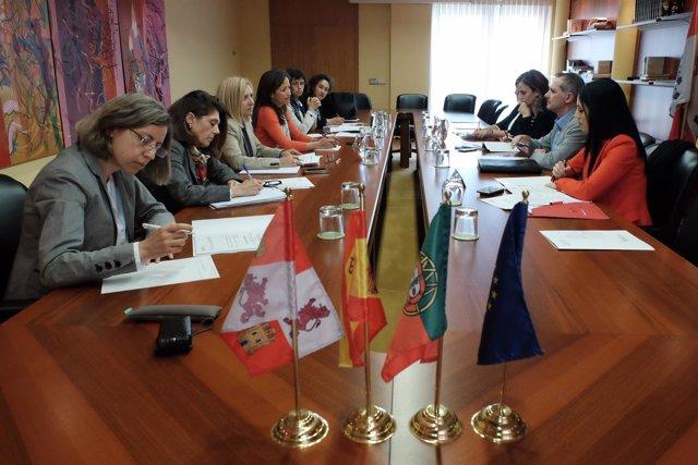 La directora de Economía y Asuntos Europeos asistió a la reunión