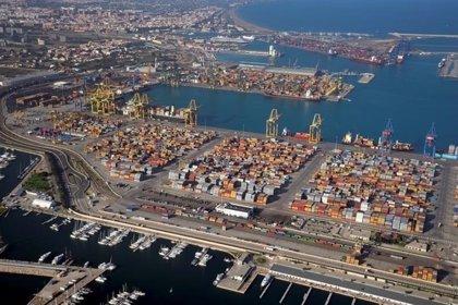 El tráfico de mercancía en los puertos cae un 2,1% en marzo coincidiendo con el conflicto de la estiba