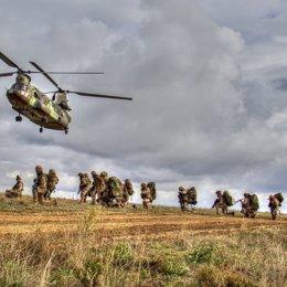 Militares de la Brigada Extremadura XI