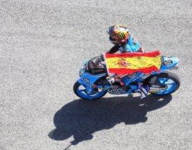 Canet se estrena con victoria en Jerez en Moto3 y Mir se sube al podio