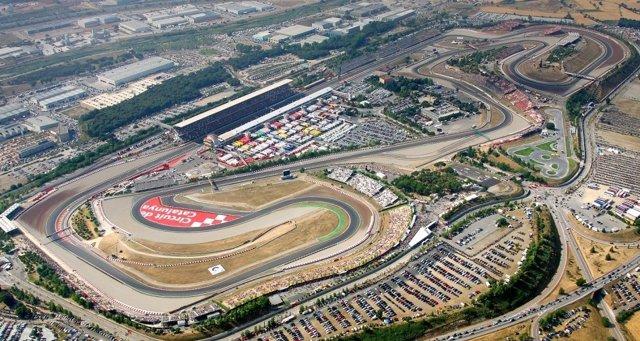 Imagen Aérea Del Circuit De Catalunya