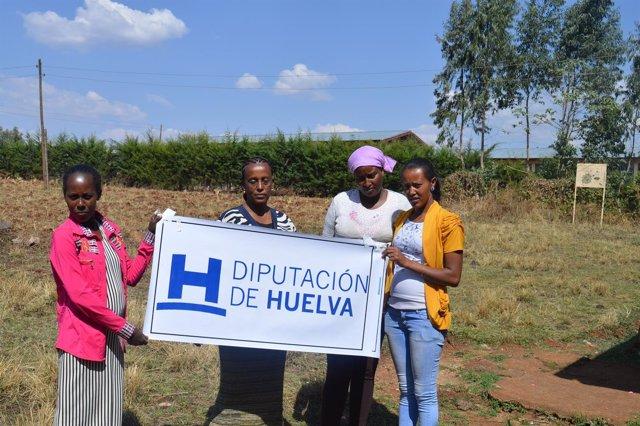 Proyecto con colaboración de la Diputación de Huelva en Etiopía