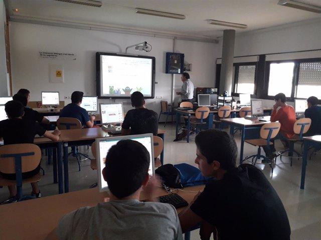 Los alumnos de Benahadux y Dalías, los primeros en realizar los talleres.
