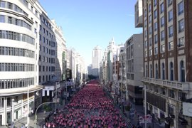 La madrileña Elena García se impone en una Carrera de la Mujer de Madrid de récord