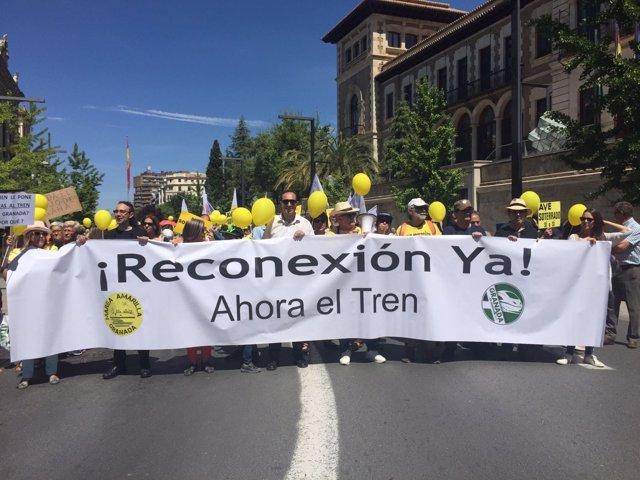 Marea Amarilla en Granada