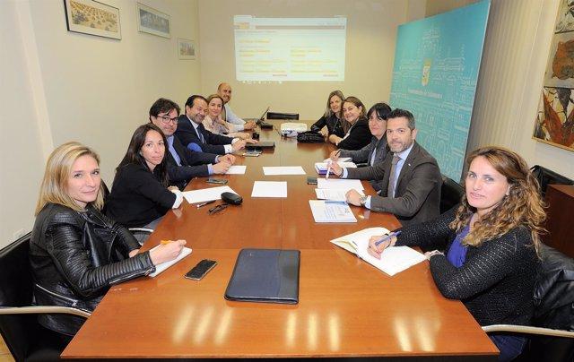 Salamanca. Reunión de la Mesa de Competitividad hotelera