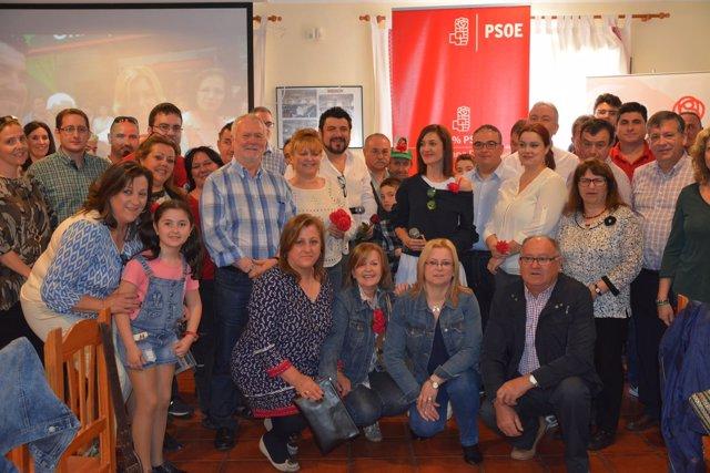 Grupo de apoyo a Susana Díaz en comarca de Nacimiento (Almería)