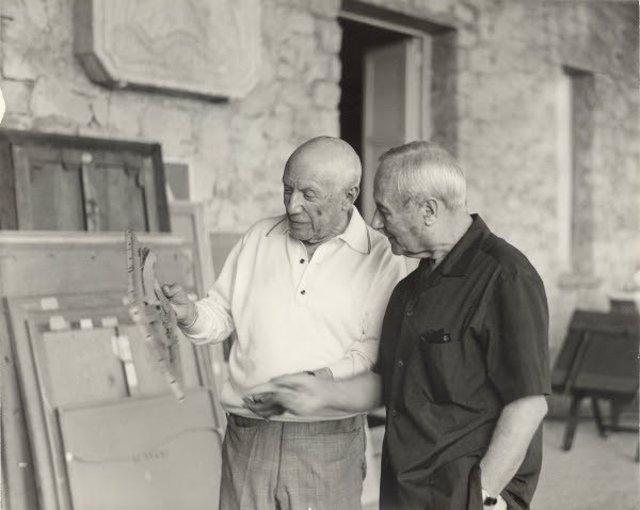 Pablo Picasso y Joan Miró
