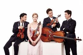 El Schumann Quartet ofrecerá este lunes un concierto en el Teatro Liceo de Salamanca